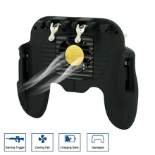 Mobile Joystick Controller Turnover Button Gamepad for iPhone PUBG iOS Android O