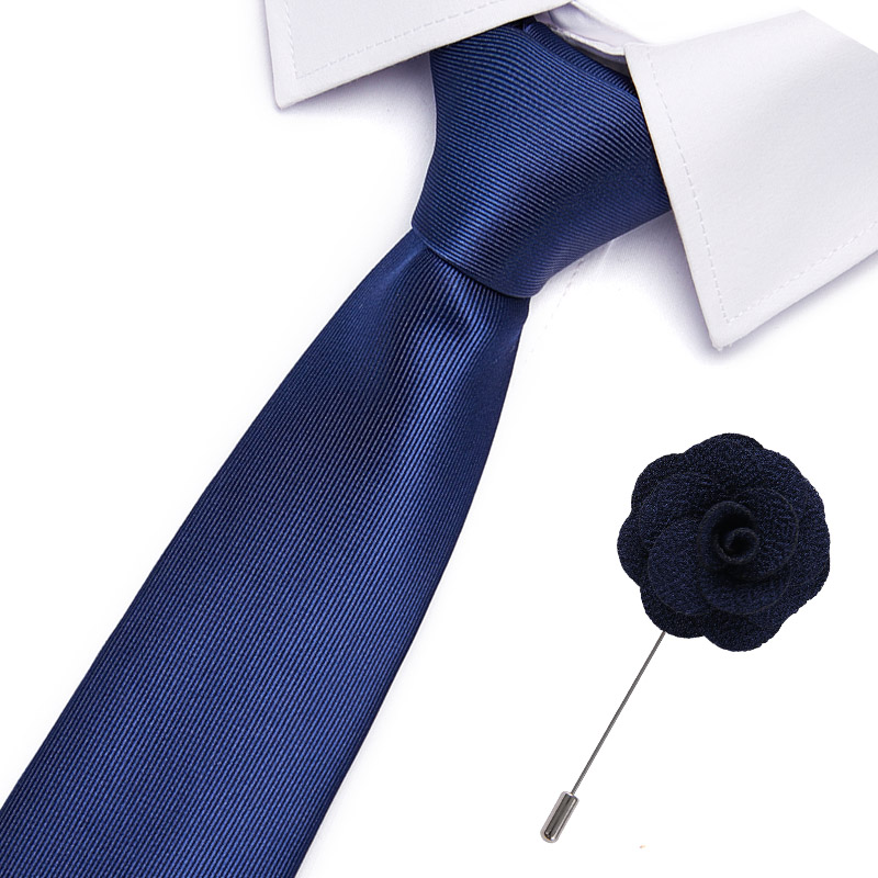100% Silk 20 Styles Ties For Men Novelty  Necktie&brooch Set  Men's Tie Formal Red Cravat For Wedding Business Neck
