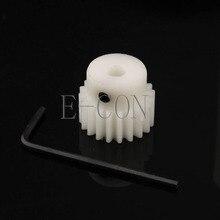 5PCS 1M24T Gear 4-12mm Bore Hole 24 Teeth 1 Module POM Gear