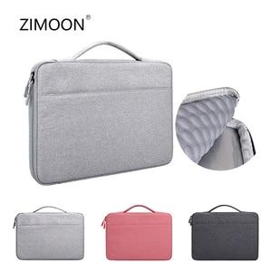 Image 1 - 13,3 14,1 15,6 zoll Laptop Fall Laptop Handtasche Multi funktionale Notebook Sleeve Trage Tasche für Macbook Samsung Dell HP