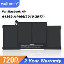 Replacement A1405-Battery A1466 Apple Macbook A1369 A1377 SKOWER for Air 13inch 50wh
