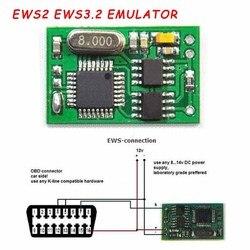 2020 nowy dla BMW EWS IMMO Auto EWS2 EWS3.2 Emulator dla bmw E34 E36 E38 E39 E46 Auto EWS IMMO Immobilizer