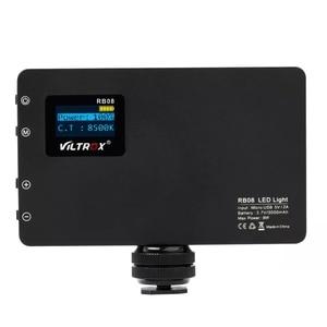 Image 5 - Viltrox RB08 Bi color 2500K 8500K Mini Video LED Light Portable Fill Light Built in Battery for Phone Camera Shooting Studio