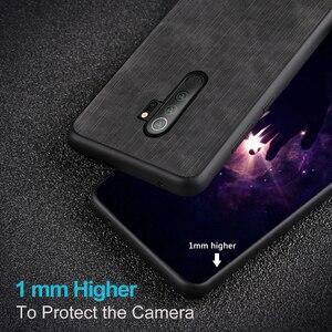 Image 5 - Чехол MOFi для Redmi note 8 Pro, чехол для Xiaomi Mi note8 8Pro, задний корпус из денима, ковбойский узор, ударопрочный противоударный чехол из тпу