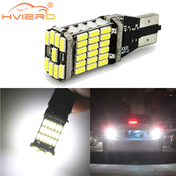 T15 W16W Car Auto LED Reverse License Plate Light Trunk Lamp White 45SMD 920 921 912 Wedge Canbus LED Backup Brake Parking Light