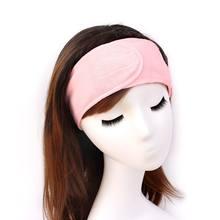 Turban élastique en coton pour le visage, démaquillant, bain doux, sueur, Yoga, sport, accessoires