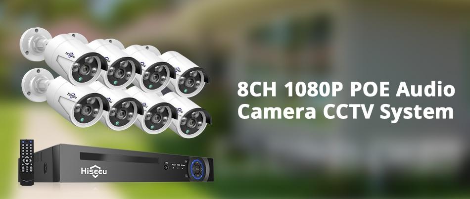Hbd69fd51bf5a4cc188e1f060c13aa58ad Hiseeu 8CH POE NVR Kit HD 1080P CCTV Camera System 2MP Outdoor Waterproof IP Camera POE Home Security Video Surveillance Set