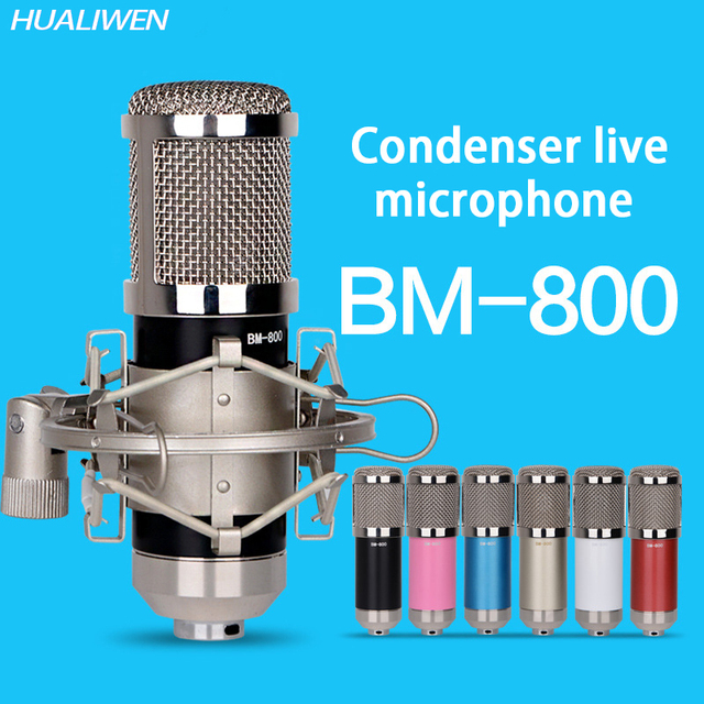 Bm800B network computer mobile phone live singing bar equipment wired microphone condenser microphone
