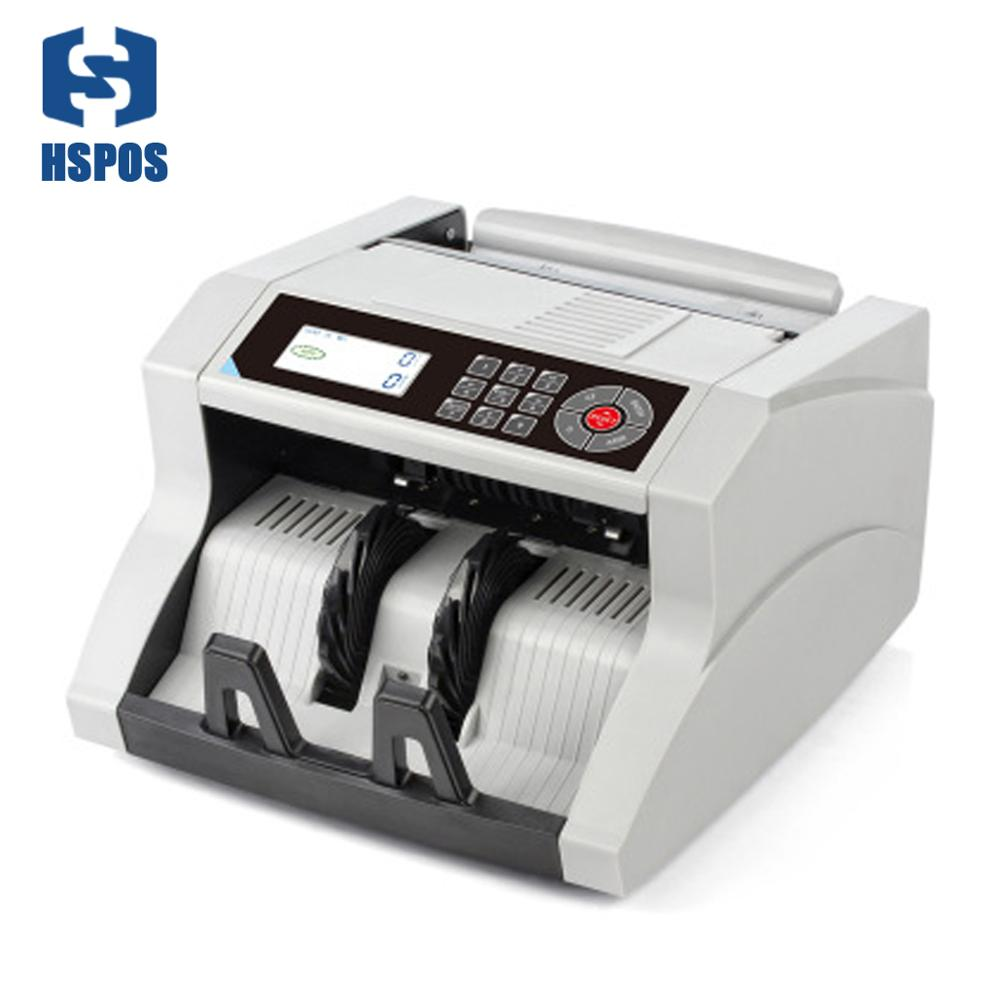 Desktop Multi-Currency LCD display Automatic Cash Banknote Money Bill Counter with UV MG Detector Machine HS-148
