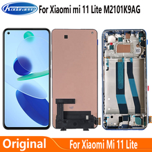Original AMOLED Screen For Xiaomi Mi 11 Lite M2101K9AG LCD Display Touch Screen Digitizer Assembly For Xiaomi Mi11 Lite Display