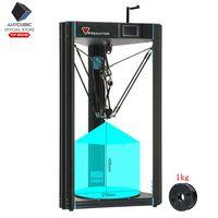 ANYCUBIC 3D Máy In Động Vật Ăn Thịt Lớn Plus Kích Thước 370x370x455mm Một Năm Bảo Hành 2019 Mới tự động San Bằng 3D Bộ Máy In impresora 3D
