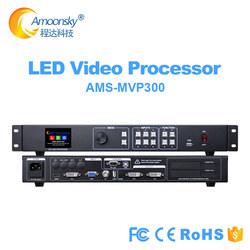 AMOONSKY support linsn ts802d novastar msd300 colorlight s2 sending card led video processor mvp300