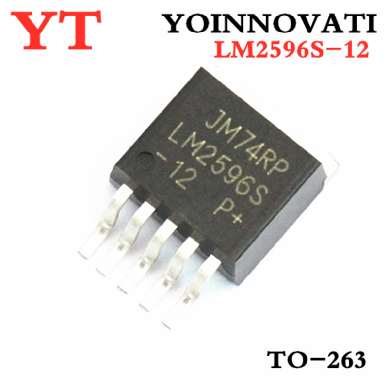 50PCS LM2596S-<font><b>12</b></font> LM2596S LM2596 LM2596S -<font><b>12</b></font> TO-263-<font><b>5</b></font> IC image