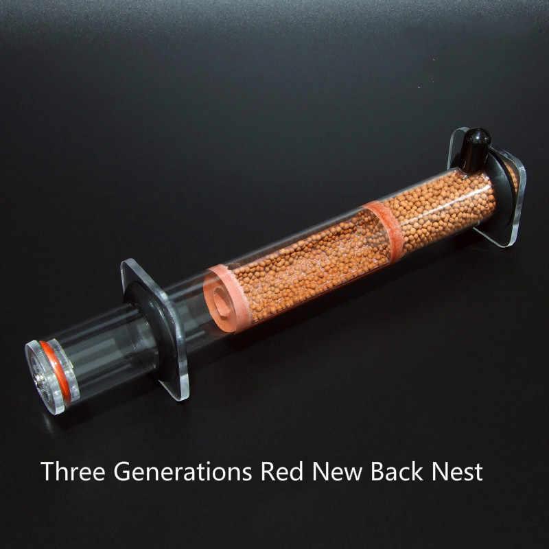 ขั้นสูงและวัฒนธรรมใหม่ Nest คอนกรีต Biomimetic Ant Nest 25x200 มม.เส้นผ่านศูนย์กลางไม้ไผ่ Nest Ant บ้านกล่อง