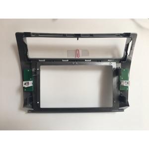 Image 3 - HACTIVOL 2 Din Car Radio face plate Frame for Citroen C Quatre 2004 2009 Car DVD GPS player panel dash mount kit car accessories