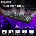 DMX консоль контроллер сценического освещения 192 каналов DMX сценическая движущаяся головка или led par и контроллер тумана для dj оборудования