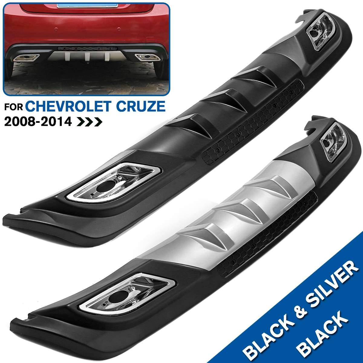Задний спойлер PP задний бампер диффузор защитные бамперы набор бампер задний спойлер для Chevrolet для Cruze 08 14
