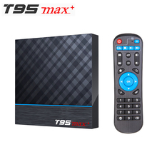 T95 MAX PLUS Amlogic S905X3 Smart TV BOX Android 9.0 4GB RAM 32GB 64GB ROM 2.4G 5G wifi Bluetooth 4K UHD décodeur vs H96 MAX