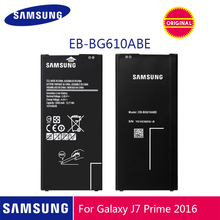 SAMSUNG Original Phone Battery EB-BG610ABE 3300mAh For Samsung Galaxy On7 2016 J7 Prime G610 G615 G6100 2 Max