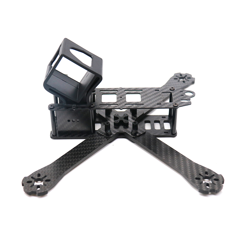 Image 4 - TCMMRC FPV Frame Boat X Wheelbase 220mm 250mm 4mm Arm Carbon Fiber For FPV Racing Drone Frame Parts-in Parts & Accessories from Toys & Hobbies