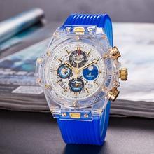 NEW Luxury Brand Mechanical Wristwatch Mens Watches Quartz