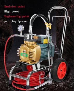 Multi functional electric High Pressure Airless Spraying Machine 4500W/4800W emulsion paint High power engineering paint sprayer