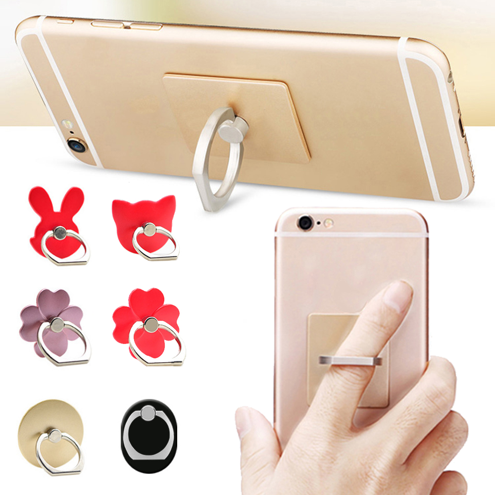 1 Piece Universal Finger Ring Holder Rotating Mount Stand Mobile Phone Stand Holder Phone Ring Holder For SmartPhone PAD MP3