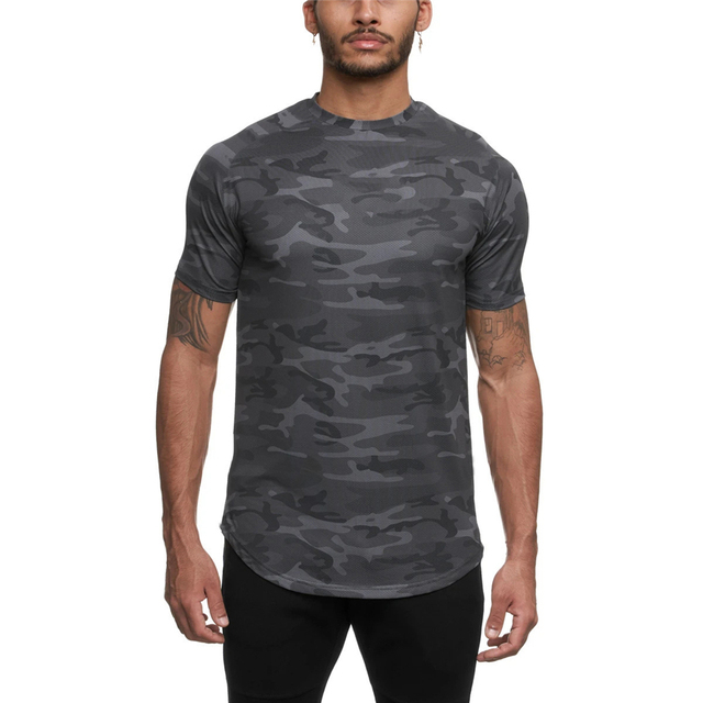 Camo Sport Fitted T-shirt 4