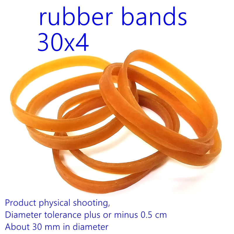 Rubber Band Circular 30x4mm Size Stretch Braclet Stationery Storage  Binding Living Furniture Information Document Rubber Band