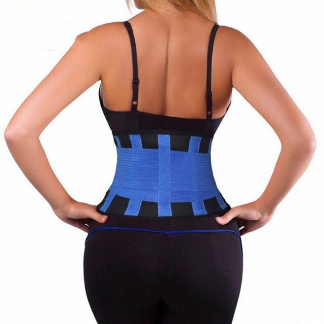 2020 Fashion Waist Cincher Girdle Belt Hot Power Slimming Belt Body Shaper Waist Trainer Trimmer Sport Gym Sweating Fat Burning 4