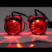 Demon eye luz led multicolorida, luz rgb sem fio, controle remoto, blutooth, app, para carro, farol, lente projetora, motocicleta, hid xenon