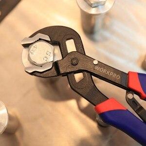 """Image 5 - WORKPRO 10"""" Pump Plier Self Adjusting Groove Joint Pliers Multi Functional Pliers"""