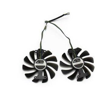 2 יח'\חבילה GTX1070 GTX1070Ti GTX1080 מאוורר עבור KFA2 GALAXY GeForce GTX 1070 1070Ti 1080 EXOC SNPR כרטיס מסך קירור להחליף מאוורר