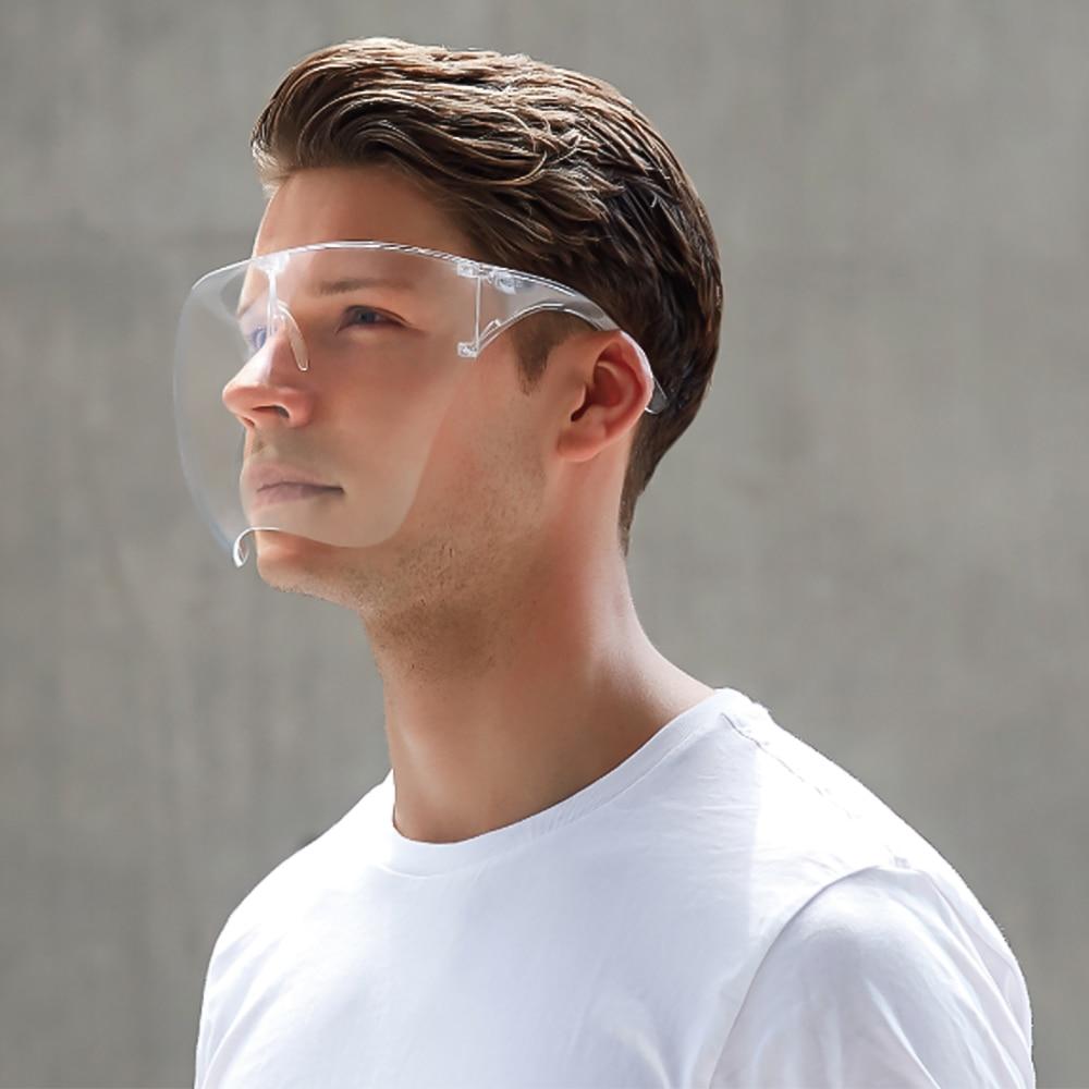 Helmet Face-Shield Safety-Mask Protect Transparent Anti-Fog Scratchproof Sand Stylish