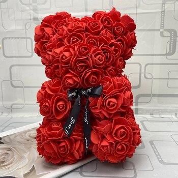 25cm oso Flor de espuma de PE