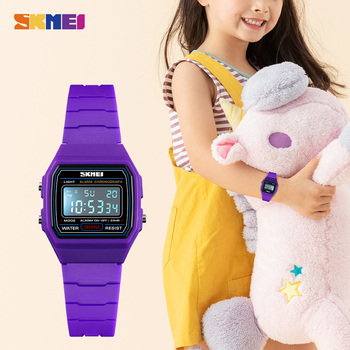 SKMEI Colorful Boys Girls Sports Watches Calendar Alarm 5Bar Waterproof Digital Wristwatches For Kids Children reloj Clock 1460 colorful kids watches bright rose red digital watch for children sports boys girls luminous led waterproof clock reloj infantil