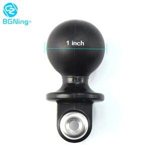 Image 3 - BGNing Lặn Đèn Bóng Kẹp Bướm Cánh Tay Kẹp Gắn Với Nhựa ABS Đế Bóng Bộ Chuyển Đổi Cho GOPRO Max 9 8 7 cho AKASO EK7000 Camera