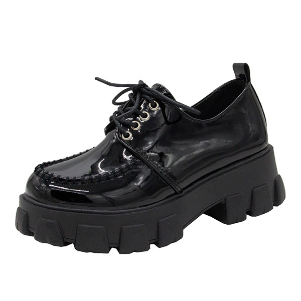 Patent leather Black