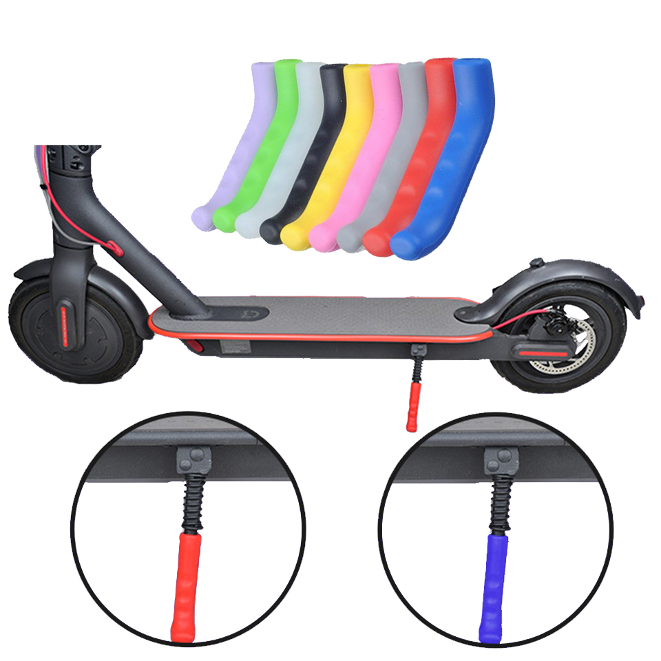 1 pair Electric Scooter Brake Handle Cover Anti-slip Cover for M187 Xiaomi M365