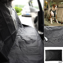 Universal Waterproof Car Rear Back Seat Cover Pet Heavy Duty Protector Easy Fit цены онлайн