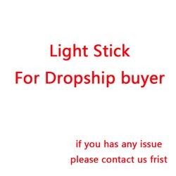 Drop-shipping corée Hip Hop Ver.3 lumière LED bâtons souci lueur lampe aimez-vous cadeaux Fans Collection jouets livraison directe en gros