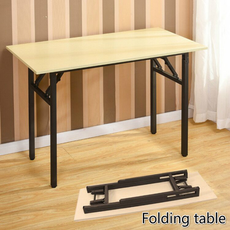 Folding Table Table Training Bar Table, Desk Long Tables Calligraphy Quick Dinner Set IBM Table