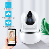 1080P 720P Home Security IP Camera Two Way Audio Wireless Network Mini Camera Night Vision CCTV WiFi Camera Baby Monitor Yoosee