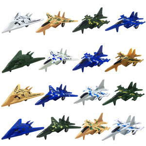 8Pcs/set Airplane Toy Model Pull Back Warplane Helicopter Mini Planes Toys Children Boys Aircraft Diecasts Vehicles Educational(China)