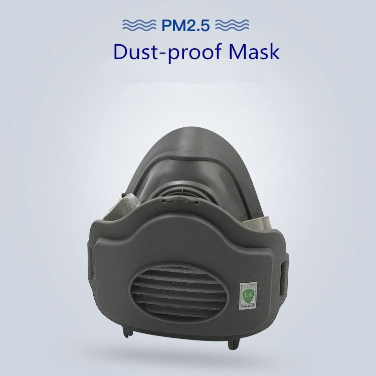 1 Set Filter Respirator Dust Gas Mask Safety Protective Suit Anti-Dust Haze Safety PM2.5 Fog For 3200 KN95 Half Face