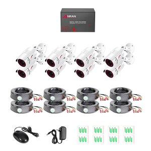 Image 4 - ANRAN Kit de vidéosurveillance DVR 8CH, Kit de caméras de sécurité analogique HD DVR, pour lintérieur et lextérieur, Vision nocturne infrarouge 1080P
