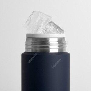 Image 3 - Xiaomi Mijia 350ml bouteille deau en acier inoxydable Thermos léger vide MIni tasse Camping voyage Portable tasse isolée Sport