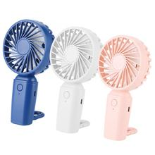 usb gadget cat ear rechargeable handheld fan with led light 2 speeds for indoor outdoor mini fan Mini Portable Handheld Fan USB Rechargeable Air Cooler 3 Speeds Adjustable Cooling Fan with Hook For Home Office Outdoor Travel
