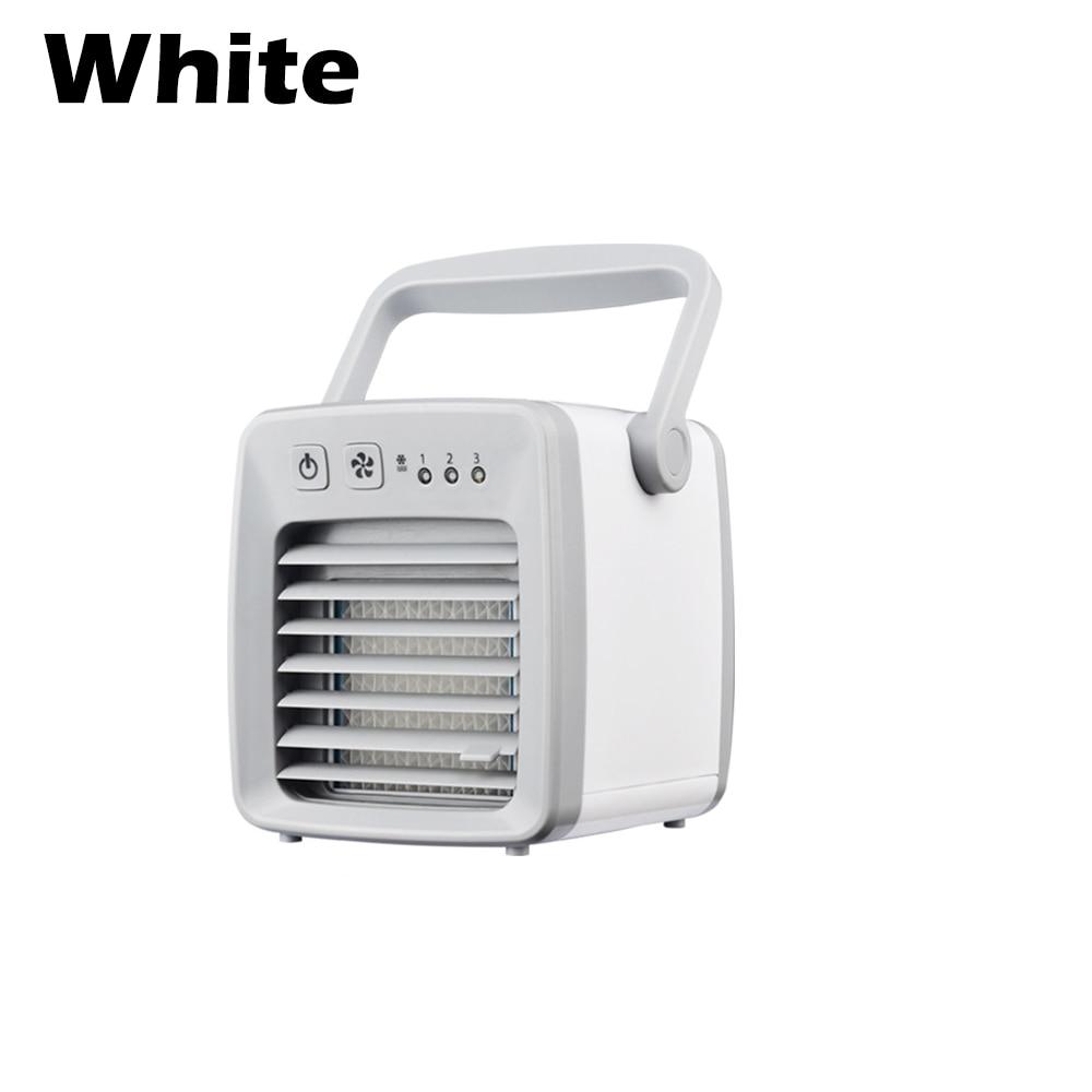 Water-filled Design USB Mini Air Conditioner Fan Portable Desktop Air Cooler Multifunction Summer Air Cooling Fan