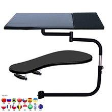OK330 OK331 çok fonksiyonlu tam hareket kare klavye desteği dizüstü bilgisayar masası tutucu paslanmaz çelik 20kg + sandalye kelepçe Mouse Pad